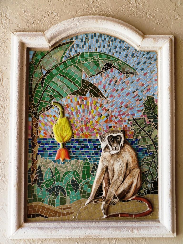 monkey mosaic