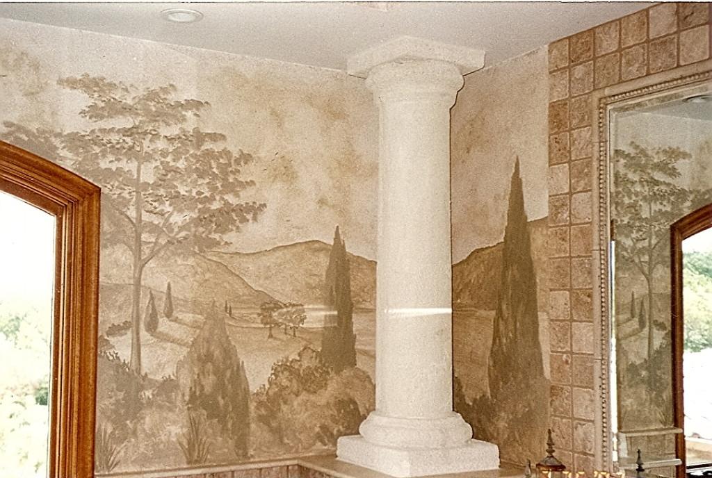 monotone bathroom