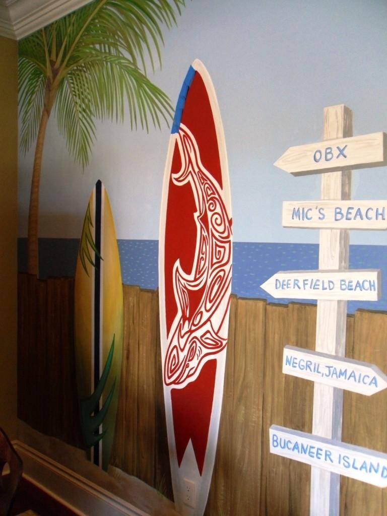 surfer bedroom