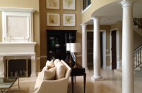 LusterStone Fireplace and Columns