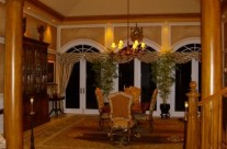 Wood Grained Molding, Columns and Faux Panels