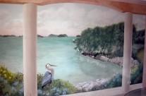 Florida Keys Dining Room Trompe l'oeil