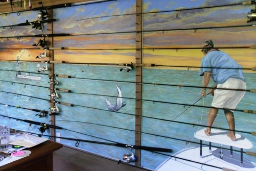 Flats Fishing Wall